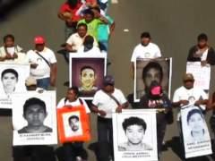 Protestas en M�xico por los estudiantes desaparecidos