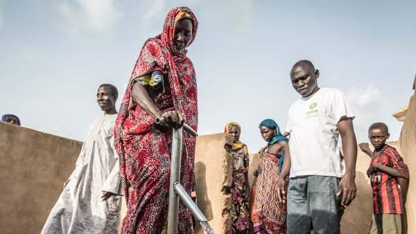 Akkoe, víctima de las sequías