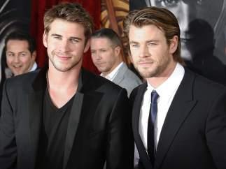 Liam y Chris Hemsworth