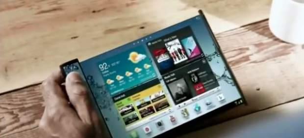 Samsung lanzará su 'smartphone' plegable a finales de 2015