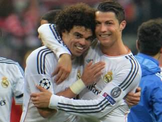 Cristiano y Pepe