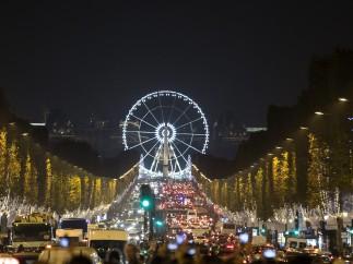 París enciende las luces de Navidad