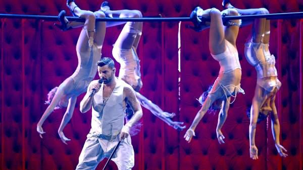 Actuación de Ricky Martin