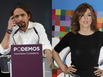 Pablo Iglesias y Sandra Barneda