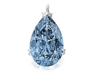 El diamante azul más caro jamás subastado
