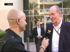 El rey Juan Carlos y Lobato