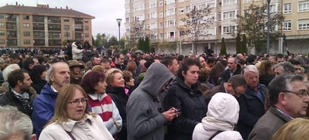 Miles de burgaleses muestran su apoyo a los trabajadores de Campofrío