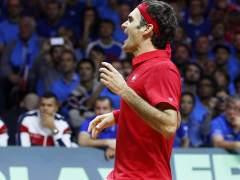 Roger Federer le da a Suiza la Copa Davis