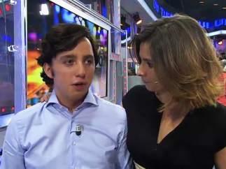 El pequeño Nicolás y Sandra Barneda