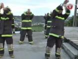 Los bomberos m�s marchosos de Chile