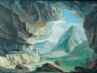 'Drachenhöhle bei Stans'