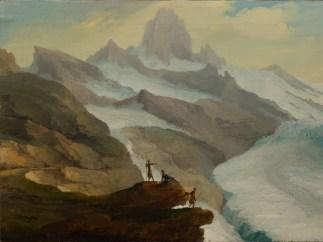 'Blick von der Bänisegg über den Unteren Grindelwaldgletscher', 1778