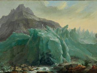'Unterer Grindelwaldgletscher, Lütschine und Mettenberg'