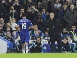 Mourinho felicita a Diego Costa