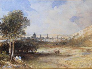 'Talavera. Vista desde el campo de batalla'