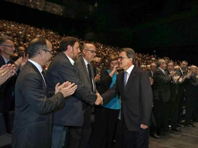 Artur Mas y Oriols Junqueras