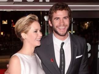 Jennifer Lawrence y Liam Hemsworth
