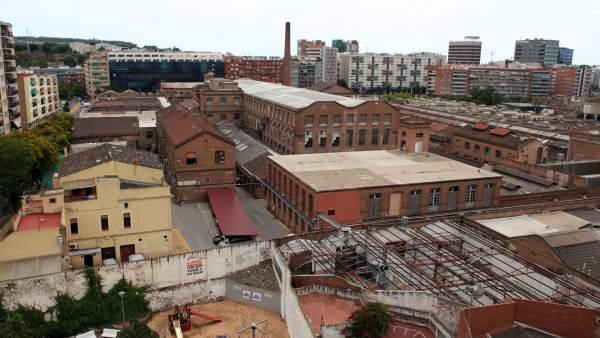 Antiga fàbrica de Can Batlló.
