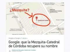 Petición para restablecer el nombre de Mezquita-Catedral de Córdoba en Change.org