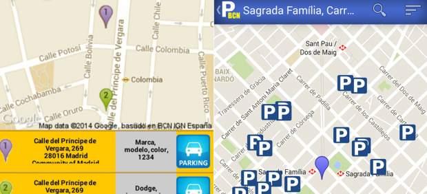 Cómo encontrar aparcamiento utilizando el teléfono móvil