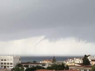 Tornado en el Mediterráneo