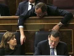 Rajoy y S�enz de Santamar�a