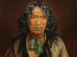 'Kuinioroa, daughter of Rangi Kopinga – Te Rangi Pikinga', no date