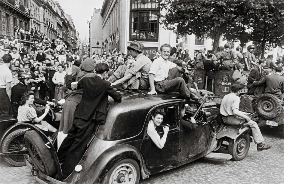 Robert Capa, 26 de agosto de 1944