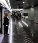 Una estació de la L9 a l'Aeroport