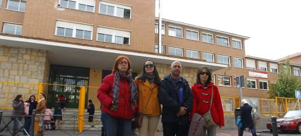 Padres Colegio Antonio Machado de Carabanchel, Madrid