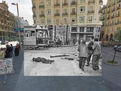 Fotos Guerra Civil y actualidad