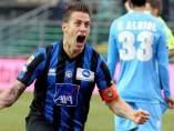 Gol del Atalanta al Nápoles