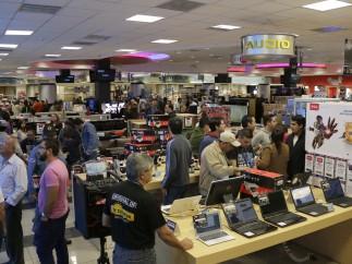 Aglomeraciones en las tiendas