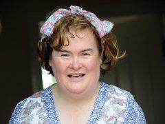 Susan Boyle en su casa