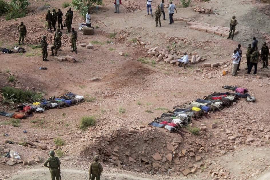 Islamistas matan a 36 trabajadores de una cantera de Kenia