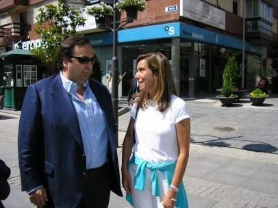 Guillermo Ortega y Ana Mato