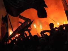 """Solo nueve grupos ultra considerados """"de riesgo"""" en el fútbol español"""