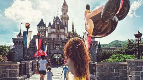 Disneyland en Instagram