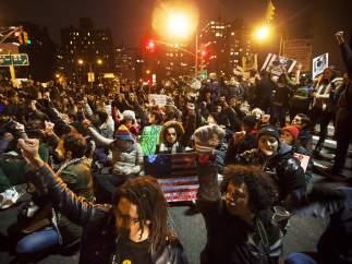 Protestas por el caso de Eric Garner