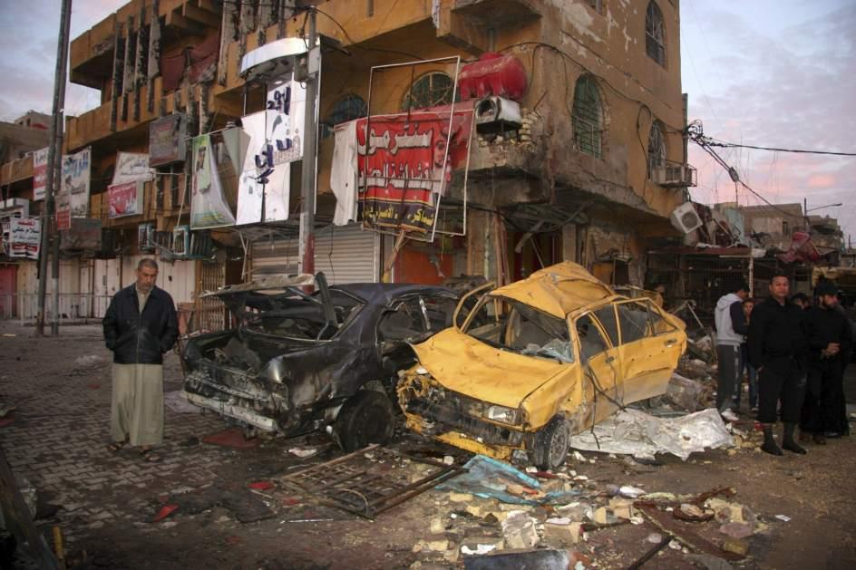 Al menos 37 muertos en un atentado en Bagdad