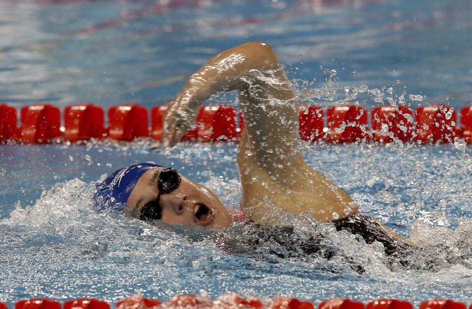 Mireia Belmonte bate el récord del mundo sobre 1500 metros - 20minutos.es