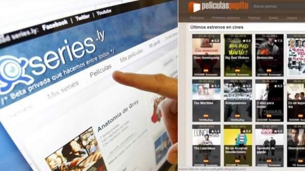 Webs de enlaces