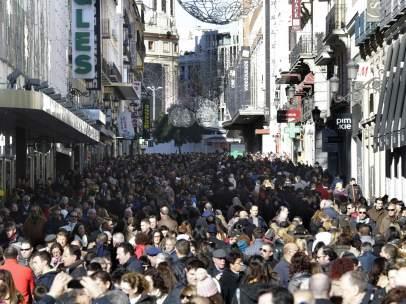 Madrid, abarrotado