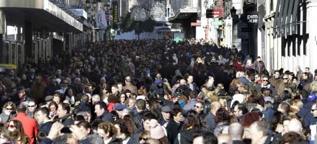 Calle Preciados de Madrid