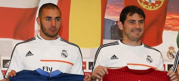 Benzema y Casillas