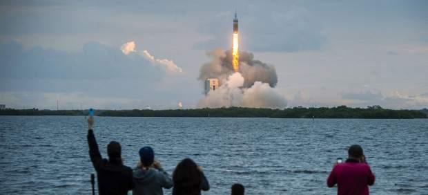 Lanzamiento de la cápsula Orion