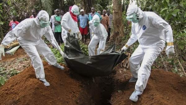 Brote de ébola en África