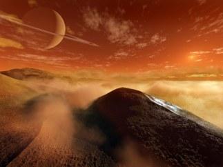 Imagen de las dunas gigantes de Titán