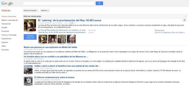 Google News cerrará en España por la imposición del 'canon AEDE' de propiedad intelectual
