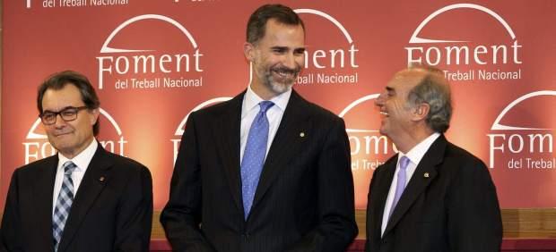 Felipe VI y Mas